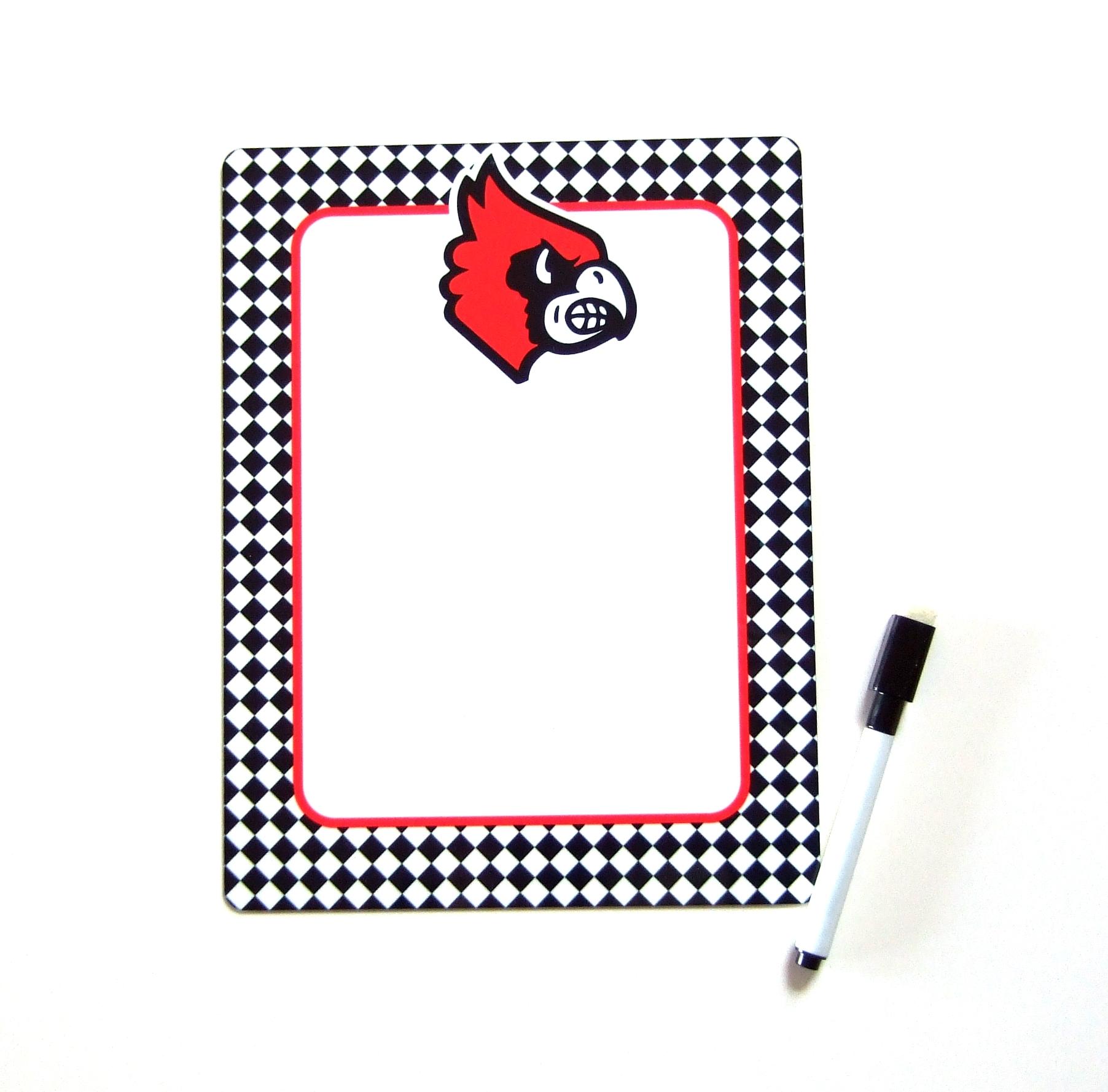 Cardinals dry erase board DEB1014